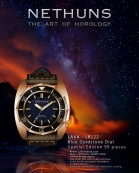 "NETHUNS LAVA BRONZE LB122 ""Night Sky"" limited to 99 pieces."