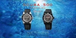 NETHUNS SCUBA 500 STEEL - SPS510 / SPS530