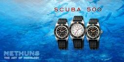 NETHUNS SCUBA 500 STEEL - SS511 / SS512 / SS513