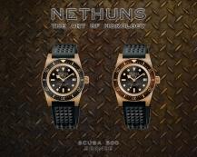 NETHUNS SCUBA 500 BRONZE - SB521 / SB522