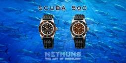 NETHUNS SCUBA 500 STEEL - SS521 / SS522